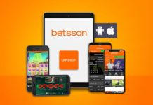 Betsson Casino app til iPhone