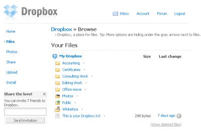 6 Dropbox beta: Synkroniser og del filer på tvers av platformer