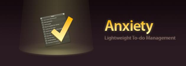 anxiety 19 Gratisprogrammer som hjelper oss å være mer produktiv [MacOS]