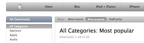 apple downloads all categories Tidenes kilde liste over gratisprogrammer for Mac