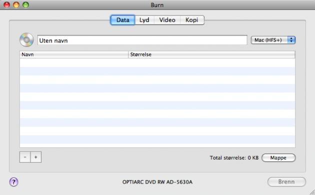 burn 630x391 15+ Systemverktøy og små nytteprogrammer for Mac
