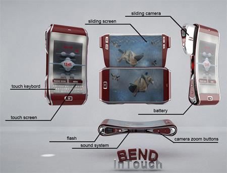 ccellp14 Sjokkerende Mobiltelefon Design!
