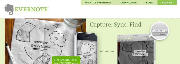 evernote 19 Gratisprogrammer som hjelper oss å være mer produktiv [MacOS]
