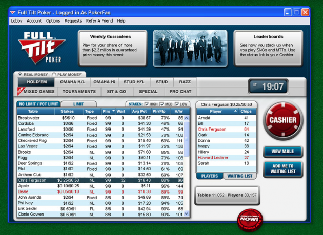 full tilt poker 630x459 Poker på datamaskinen   Mac og Windows