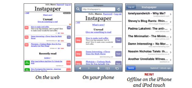 instapapereren Hva gjør du når du ønsker å lese nettsider uten nettilgang?