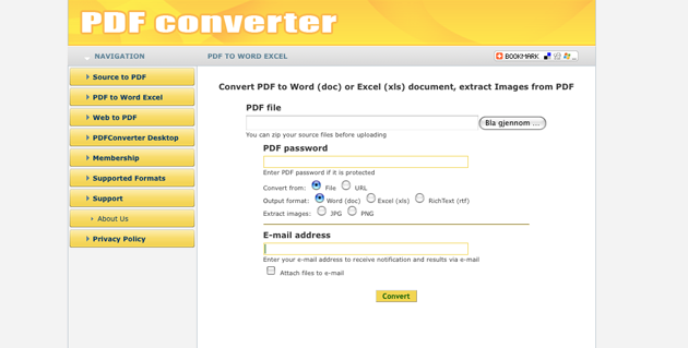 pdfconverter Slik konverter du PDF filer til Word dokumenter gratis