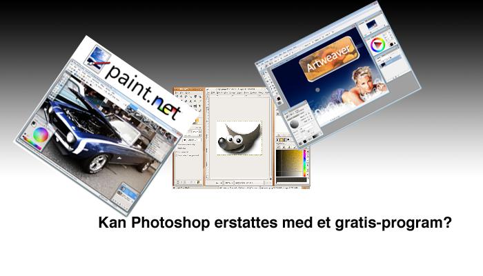 Gratis fotoredigeringsprogram på norsk