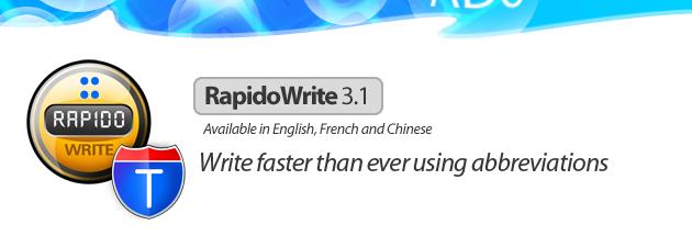 rapidowrite 19 Gratisprogrammer som hjelper oss å være mer produktiv [MacOS]