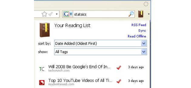 readitlater bruk Hva gjør du når du ønsker å lese nettsider uten nettilgang?