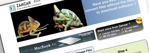 zamzar fe Slik konverter du PDF filer til Word dokumenter gratis