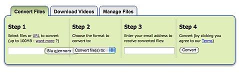 zamzar Så enkelt kan du konvertere de fleste filformater uten programvare